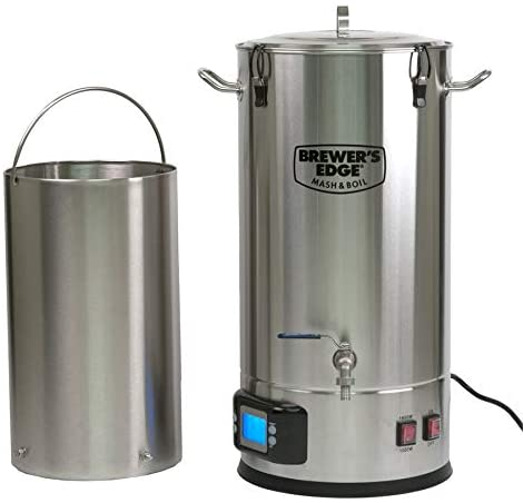 Brewers Edge Mash & Boil Review: All Grain Brewing System